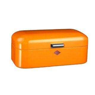 Wesco 235201 25 Brotkasten Grandy, 42 x 23 x 17 cm, orange: