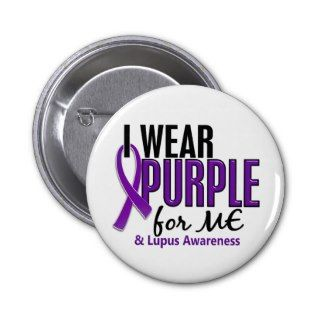 Wear Purple For ME 10 Lupus Button