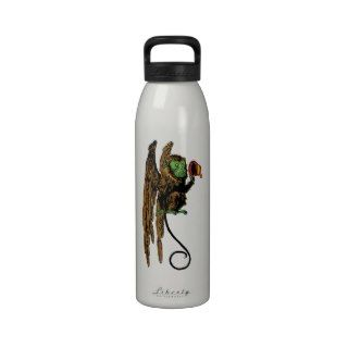 Vintage Wizard of Oz; Evil Flying Monkey Hat Water Bottle