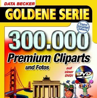 300.000 Premium Cliparts (DVD ROM): Software