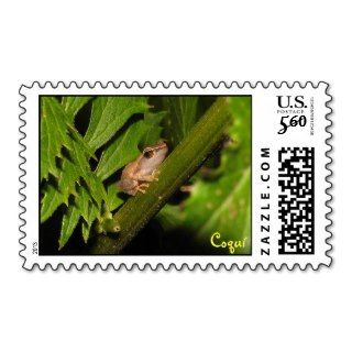 Coqui Priority Mail Stamps