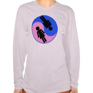 Yin Yang Man Woman Shirts