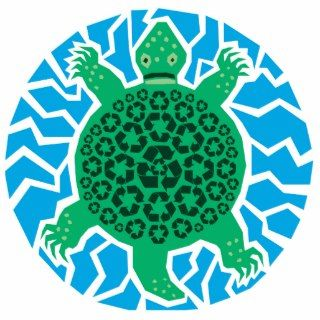 Sea Turtles, Recycling Photo Cut Outs