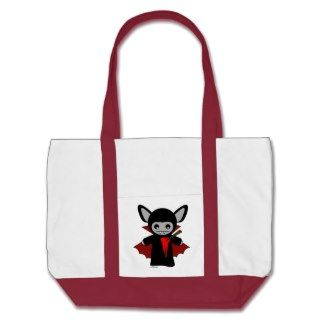 Cute Vampire Bat Totes Bag