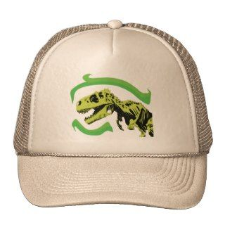 Rex Dinosaur Skeleton Trucker Hat