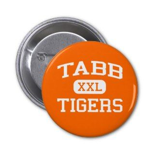 Tabb   Tigers   High School   Yorktown Virginia Buttons