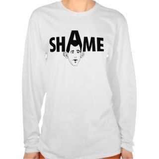 Shame on You Scott Walker! T shirt