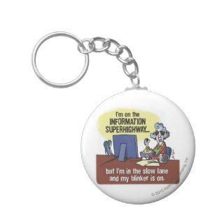 Maxine Information Superhighway Key Chain