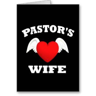 Pastors Wife Greeting Cards