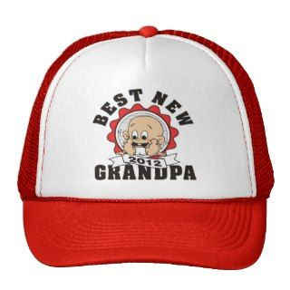 Best New Grandpa 2012 Mesh Hats