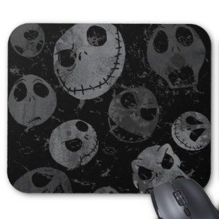 Jack Skellington Pattern 2 Mousepads