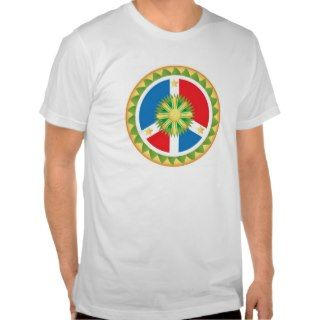 Filipino Peace Sign Mandala Tshirts