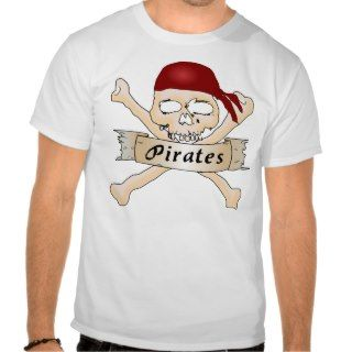 Pirate Skull and Crossbones Tshirt