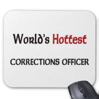 Worlds Hottest Corrections Officer Mouse Mat