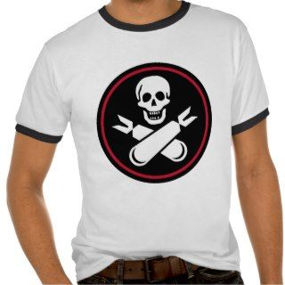 Jolly Rogers Nose Art Ringer Tee