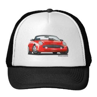 2002 05 Ford Thunderbird Red Hats