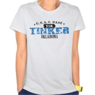 Air Force Base   Tinker, Oklahoma Shirts
