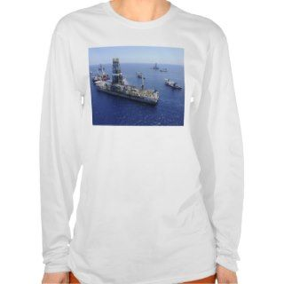 Flaring operations conducted by the drillship t shirt
