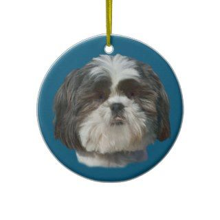 Shih Tzu Dog Ornament