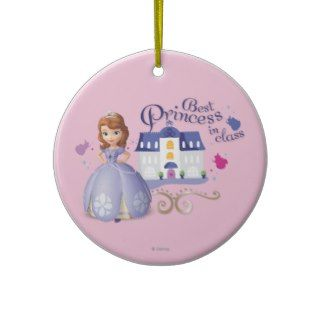 Sofia: Best Princess in Class Christmas Ornament