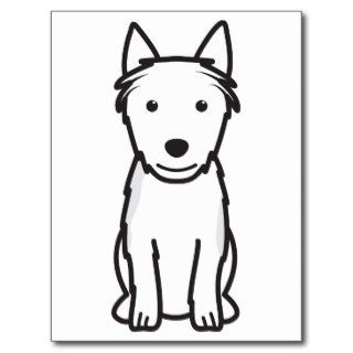 Australian Terrier Dog Cartoon Post Cards