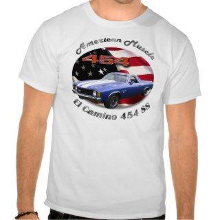 Chevy El Camino 454 SS Muscle Shirt