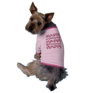 Happy Happy Happy Pink Camouflage Ducks for Pets Pet T shirt
