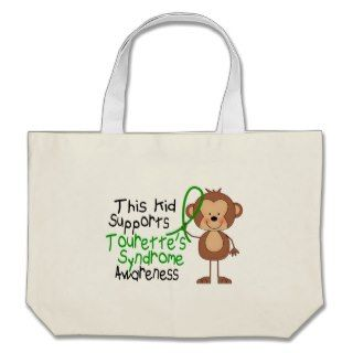 This Kid Supports Tourettes Syndrome Awareness Tote Bag