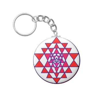 Sri Yantra Key Chains