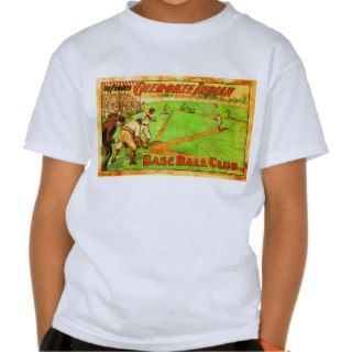 Vintage Retro Cherokee Indian Baseball Club Poster Shirt
