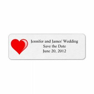 wedding clipart return address labels customize with your information