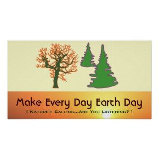Make Earth Day Every Day Poster