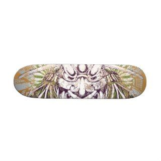 Samurai Mask Dirty Deck Skate Deck
