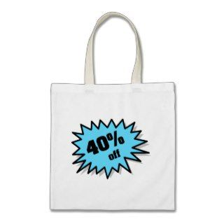 Aqua 40 Percent Off Bag