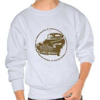 1941 Chevy Coupe Traditional Hot Rod Pullover Sweatshirts