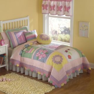 Pem America Annas Dream Quilt Mini Set   Girls Bedding