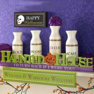 Interiors Haunted House Cutout Tabletop   Decorative Accents at