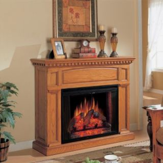 Classic Flame Georgetown Oak Electric Fireplace   Electric Fireplaces