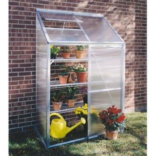 Juliana Lean To 4.25 x 6.4 Foot Mini Greenhouse Kit   Greenhouses at