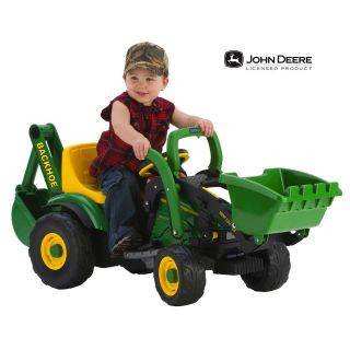 Peg Perego John Deere Utility Tractor   Battery Powered Riding Toys at