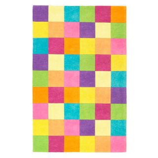 KAS Rugs Kidding Around 420 Girls Color Blocks Area Rug   DO NOT USE