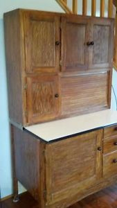 Antique Hoosier Cabinet Great Condition