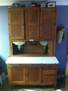 Details about antique hoosier cabinet
