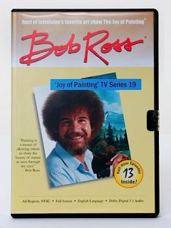 Bob Ross Joy of Painting TV Series DVDs