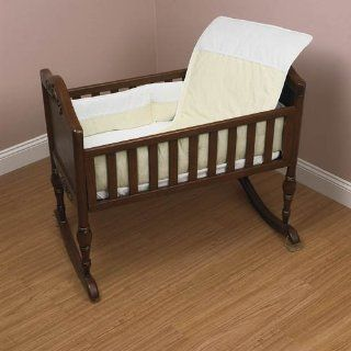 Baby Doll Bedding Kingdom Cradle Bedding Set Ecru