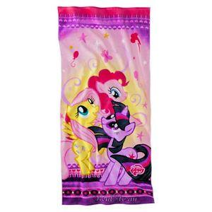 New My Little Pony Fluttershy Pinkie Pie Twilight Sparkle Beach Bath Towel 28x58