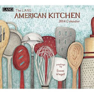 LANG® American Kitchen 2014 Wall Calendar