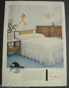 1956 Sligh Furniture Bedroom Grand Rapids Lingerie Ad