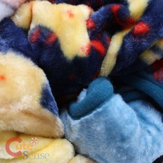 "Disney Mickey Mouse Raschel Plush Blanket Twin Mickey Flight Academy 60"" x 80"""