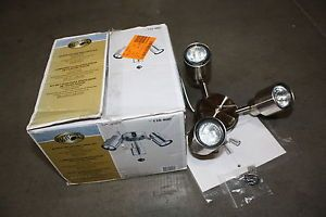 Hampton Bay LK054 BN 3 Light Brushed Nickel Ceiling Fan Light Kit Lighting